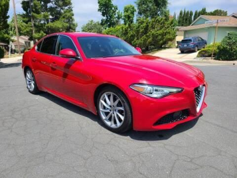 2017 Alfa Romeo Giulia for sale at CAR CITY SALES in La Crescenta CA