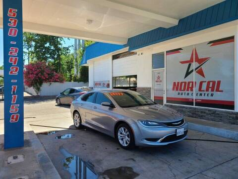 2016 Chrysler 200 for sale at Nor Cal Auto Center in Anderson CA