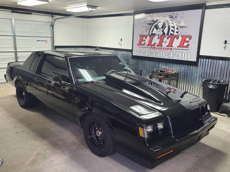1985 Buick Regal for sale at Elite Motors in Uniontown PA