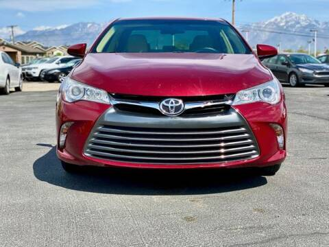 2017 Toyota Camry for sale at INVICTUS MOTOR COMPANY in West Valley City UT