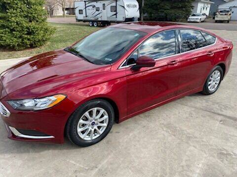 2017 Ford Fusion for sale at DK Auto in Centerville SD