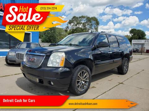 2008 GMC Yukon XL for sale at Detroit Cash for Cars in Warren MI