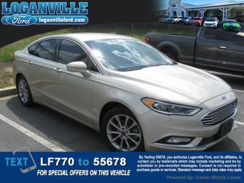 2017 Ford Fusion for sale at Loganville Quick Lane and Tire Center in Loganville GA