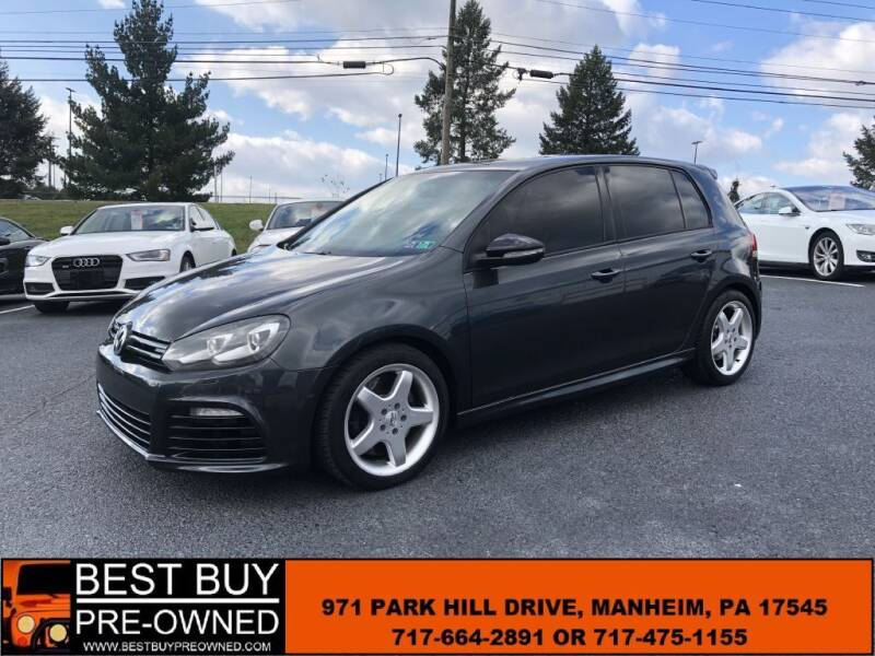 2013 Volkswagen Golf R for sale at Best Buy Pre-Owned in Manheim PA