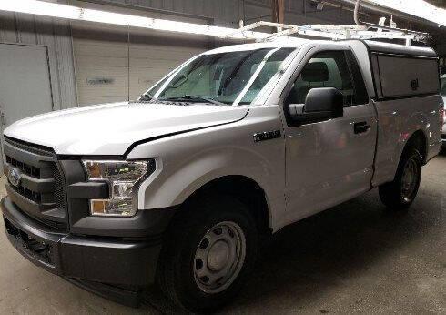 2017 Ford F-150 for sale at CENTURY TRUCKS & VANS in Grand Prairie TX