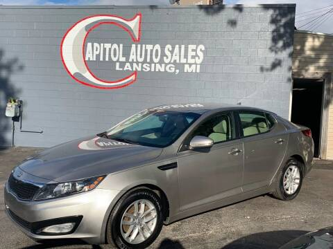 2012 Kia Optima for sale at Capitol Auto Sales in Lansing MI