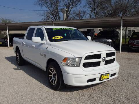 2017 RAM Ram Pickup 1500 for sale at Bostick's Auto & Truck Sales in Brownwood TX