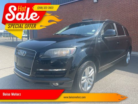 2009 Audi Q7 for sale at Boise Motorz in Boise ID