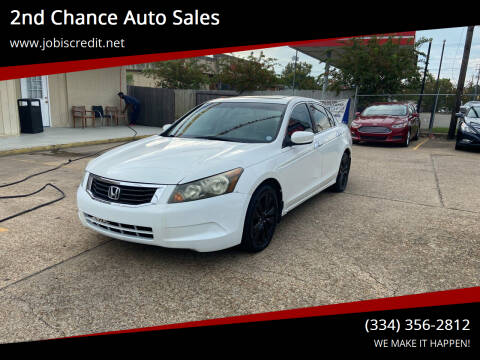 2012 Honda Accord for sale at 2nd Chance Auto Sales in Montgomery AL
