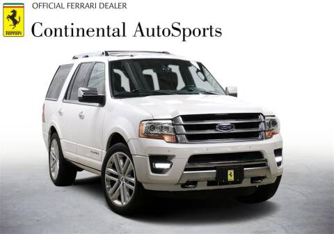 2016 Ford Expedition for sale at CONTINENTAL AUTO SPORTS in Hinsdale IL