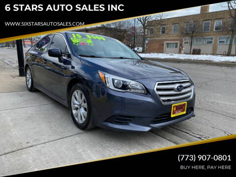 2015 Subaru Legacy for sale at 6 STARS AUTO SALES INC in Chicago IL