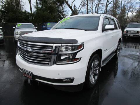 2015 Chevrolet Tahoe for sale at LULAY'S CAR CONNECTION in Salem OR