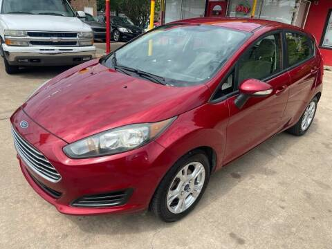 2016 Ford Fiesta for sale at Texas Select Autos LLC in Mckinney TX