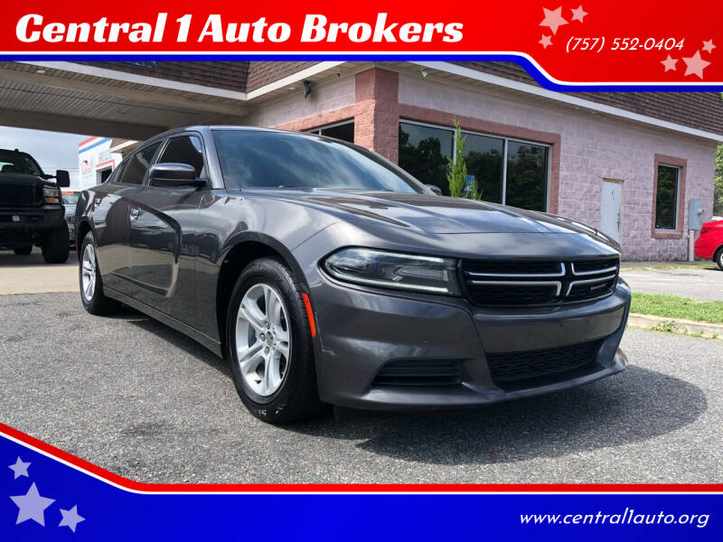 2015 Dodge Charger for sale at Central 1 Auto Brokers in Virginia Beach VA