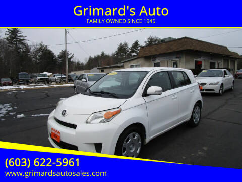 2009 Scion xD for sale at Grimard's Auto in Hooksett, NH