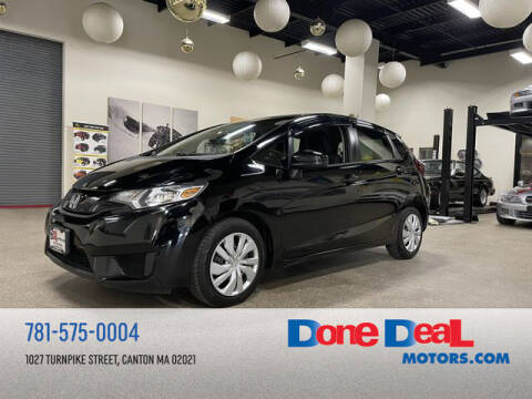 2015 Honda Fit for sale at DONE DEAL MOTORS in Canton MA