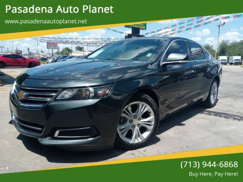2015 Chevrolet Impala for sale at Pasadena Auto Planet in Houston TX