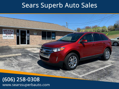 2014 Ford Edge for sale at Sears Superb Auto Sales in Corbin KY