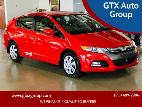 2013 Honda Insight for sale at GTX Auto Group in West Chester OH