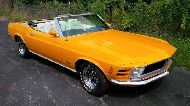 1970 Ford Mustang for sale at Benza Motors in Cincinnati OH