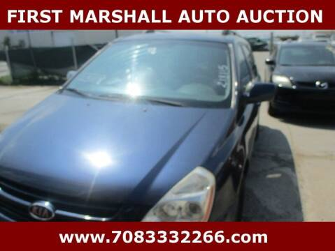 2008 Kia Sedona for sale at First Marshall Auto Auction in Harvey IL