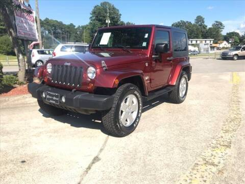 2010 Jeep Wrangler for sale at Kelly & Kelly Auto Sales in Fayetteville NC