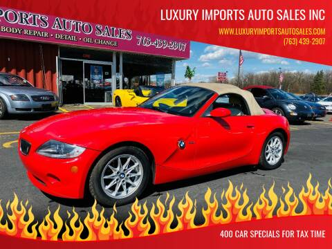 2005 BMW Z4 for sale at LUXURY IMPORTS AUTO SALES INC in North Branch MN