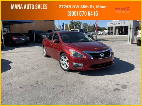 2015 Nissan Altima for sale at MANA AUTO SALES in Miami FL