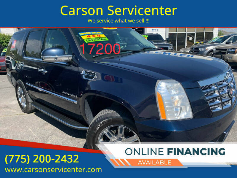 2007 Cadillac Escalade for sale at Carson Servicenter in Carson City NV