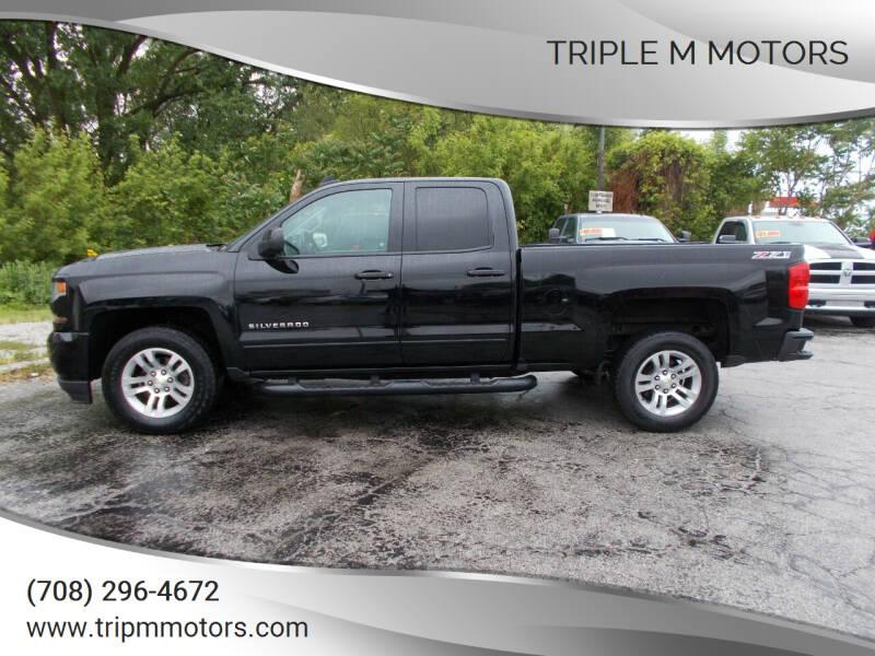 2016 Chevrolet Silverado 1500 for sale at Triple M Motors in Saint John IN
