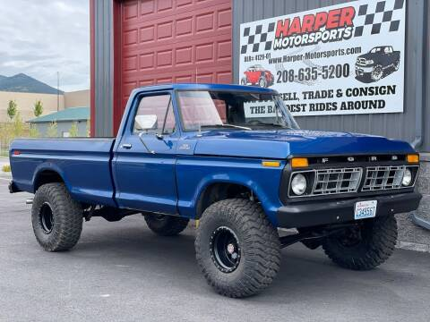 1977 Ford F-150 for sale at Harper Motorsports-Vehicles in Post Falls ID