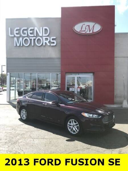 2013 Ford Fusion for sale at Legend Motors of Detroit - Legend Motors of Ferndale in Ferndale MI