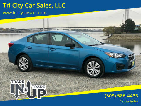 2017 Subaru Impreza for sale at Tri City Car Sales, LLC in Kennewick WA