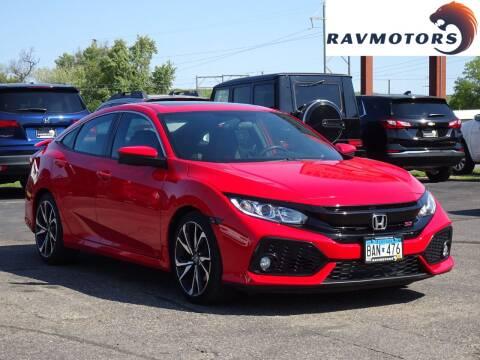 2018 Honda Civic for sale at RAVMOTORS in Burnsville MN