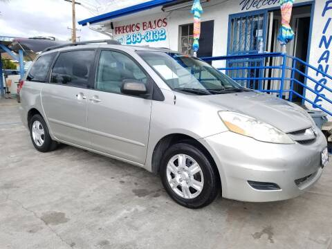 2006 Toyota Sienna for sale at Olympic Motors in Los Angeles CA