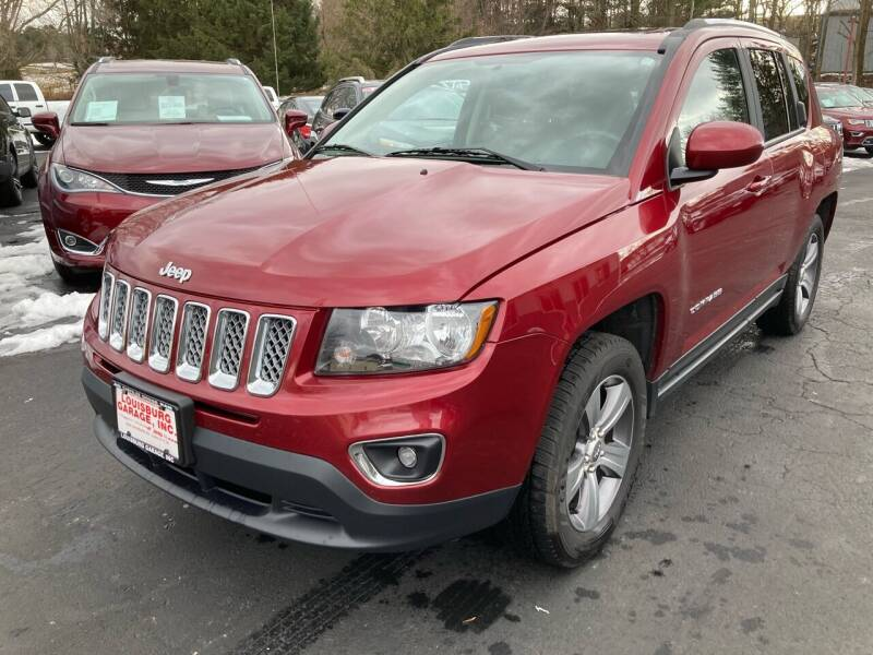 2017 Jeep Compass for sale at Louisburg Garage, Inc. in Cuba City WI