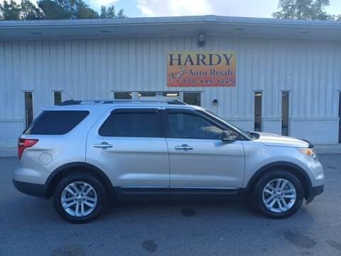 2015 Ford Explorer for sale at Hardy Auto Resales in Dallas GA