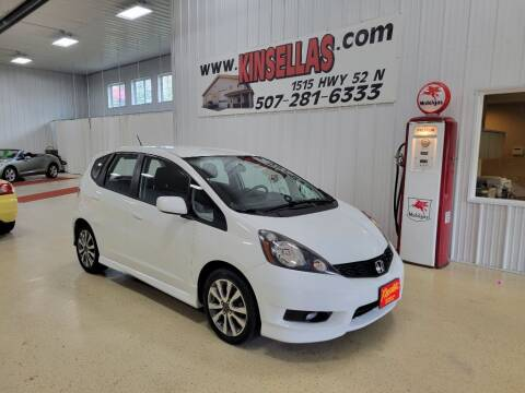 2012 Honda Fit for sale at Kinsellas Auto Sales in Rochester MN