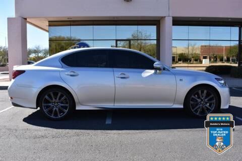 2014 Lexus GS 350 for sale at GOLDIES MOTORS in Phoenix AZ