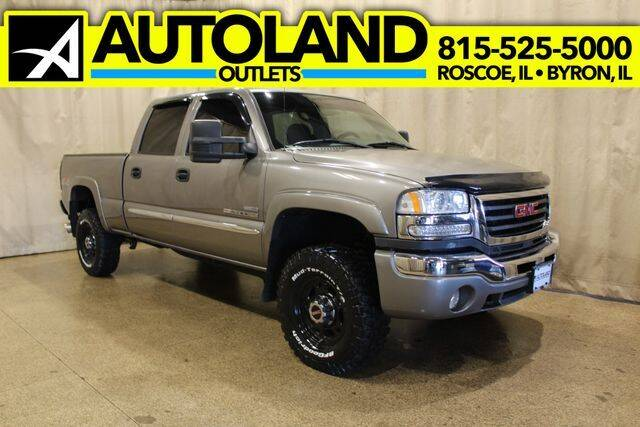2007 GMC Sierra 2500HD Classic for sale at AutoLand Outlets Inc in Roscoe IL