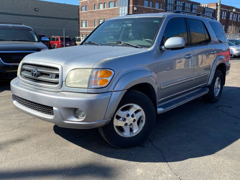 2003 Toyota Sequoia for sale at Samuel's Auto Sales in Indianapolis IN
