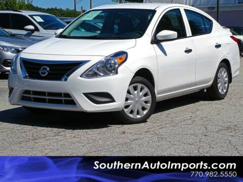 2018 Nissan Versa for sale at Used Imports Auto - Southern Auto Imports in Stone Mountain GA