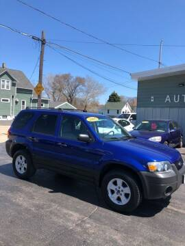 2006 Ford Escape for sale at SHEFFIELD MOTORS INC in Kenosha WI