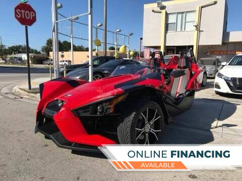 2016 Polaris Slingshot for sale at Global Auto Sales USA in Miami FL