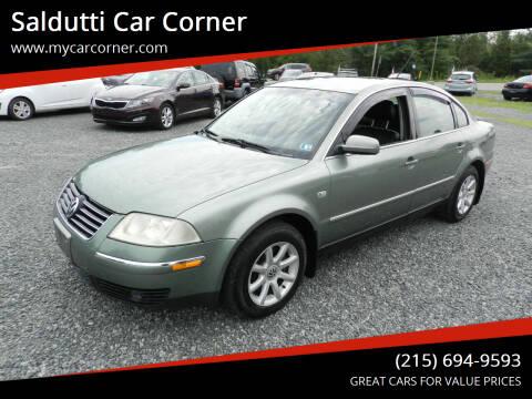 2004 Volkswagen Passat for sale at Saldutti Car Corner in Gilbertsville PA