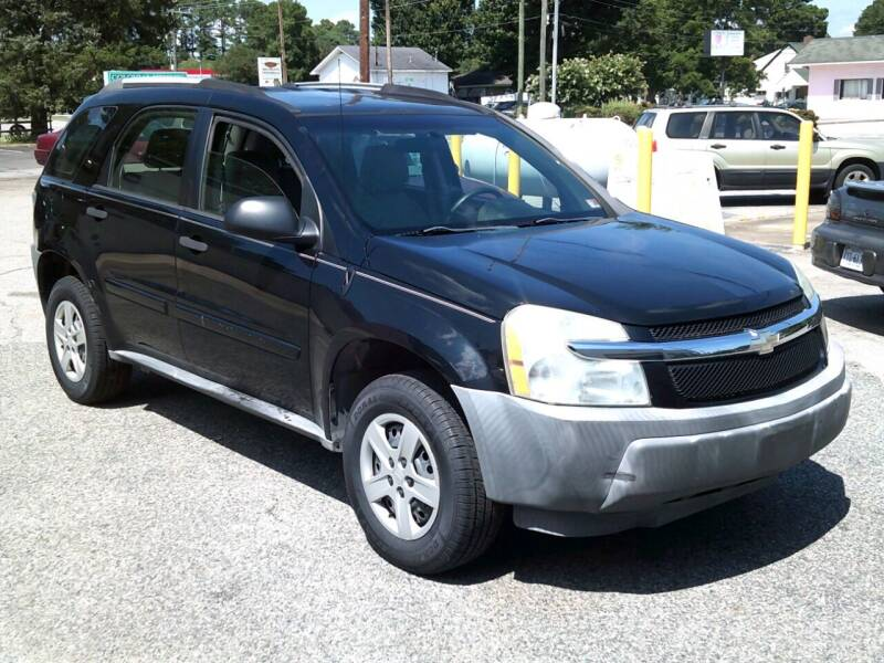 2005 Chevrolet Equinox for sale at Wamsley's Auto Sales in Colonial Heights VA