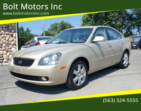 2008 Kia Optima for sale at Bolt Motors Inc in Davenport IA