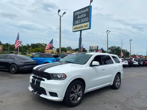 2019 Dodge Durango for sale at Michaels Autos in Orlando FL