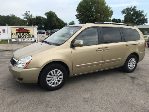 2011 Kia Sedona for sale at Cordova Motors in Lawrence KS