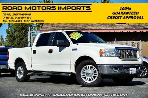 2008 Ford F-150 for sale at Road Motors Imports in El Cajon CA